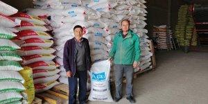 Ilgın'da yüzde 50 hibe destekli nohut tohumu dağıtıldı