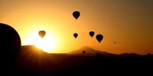 Son 5 yılda 2 milyonu aşkın turist Kapadokya'yı gökyüzünden izledi