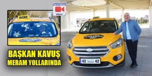 Başkan Kavuş 'Bizim Meram Taksi' ile Meram yollarında