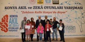 Konya İnsan Mektebi Akıl ve Zeka Oyunları Yarışmaları Ödül Töreni