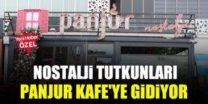 Nostalji tutkunları Panjur Kafe'ye gidiyor
