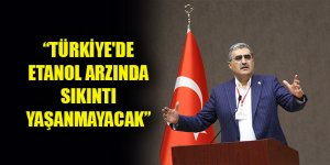 Recep Konuk: Türkiye'de etanol arzında sıkıntı yaşanmayacak