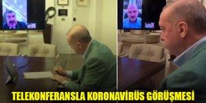 Erdoğan: Adımlarımızı eşgüdüm içerisinde atmayı sürdürüyoruz