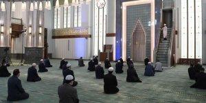 Beştepe Millet Camisi'nde cuma namazı kılındı