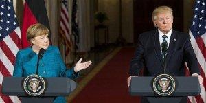 Merkel ile Trump telefonda Kovid-19'u görüştü