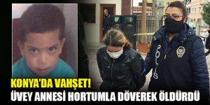 Konya'da vahşet! Koronavirüsten öldüğünü iddia ettiği üvey oğlunu döverek öldürmüş