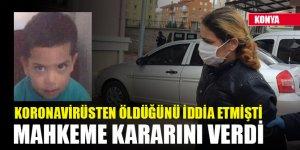 Koronavirüsten öldüğünü iddia ettiği üvey oğlunu döverek öldüren kadın tutuklandı