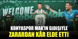 Konyaspor, Mak'ın gidişiyle zarardan kâr elde etti