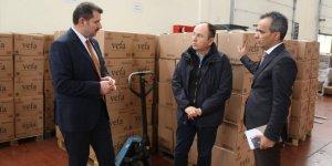 """Sivas'ta """"Vefa Sosyal Destek Grubu"""" 11 bin 237 talebi karşıladı"""