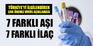 Bakan Varank'tan aşı çalışmalarıyla ilgili açıklama