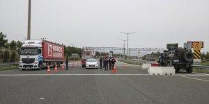 Başkentte araç giriş-çıkışları denetleniyor