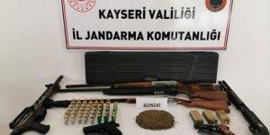 Kayseri'de uyuşturucu operasyonu: 3 gözaltı