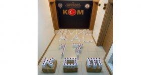 Çanakkale'de 155 adet sahte dezenfektan ele geçirildi