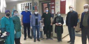"""Konya'da sağlık çalışanlarına """"Gümüşhane Pestili"""" ikram edildi"""
