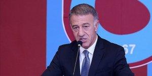 """Trabzonspor Kulübü Başkanı Ağaoğlu: """"Görevimizin başındayız"""""""
