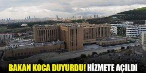 Marmara Üniversitesi Pendik Başıbüyük Eğitim ve Araştırma Hastanesi hizmete açıldı
