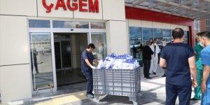 Sivas'ta belediyeden sağlıkçılara yemek ikramı