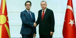 Erdoğan, Pendarovski ile görüştü