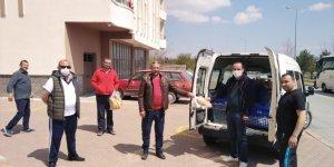 İncesu Belediyesi vatandaşa ekmeği ücretsiz dağıttı