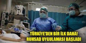Türkiye'den bir ilk daha! RUHSAD uygulaması başladı