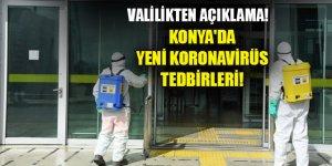 Konya'da yeni koronavirüs tedbirleri! En az 3 metre olacak