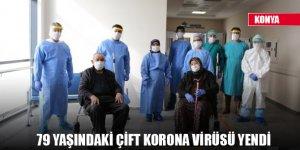 79 yaşındaki çift korona virüsü yendi