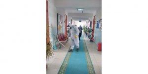 Ulaş'ta kamu kurum ve kuruluşları dezenfekte edildi