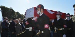 Şehit Uzman Çavuş Muhammet Fatih Durhan toprağa verildi