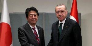 Erdoğan, Japonya Başbakanı Şinzo Abe ile görüştü