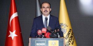 Konya Büyükşehir Belediye Başkanı Altay'dan 23 Nisan mesajı