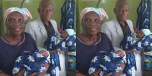 68 yaşındaki kadın ikiz doğurdu