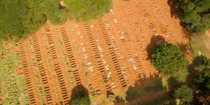 Brezilya'da Kovid-19 nedeniyle 674 kişi daha hayatını kaybetti