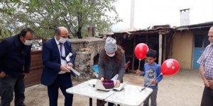 Konya'da 23 Nisan doğumlu öğrenciye sürpriz