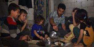 İdlib'deki kamplarda ilk sahur