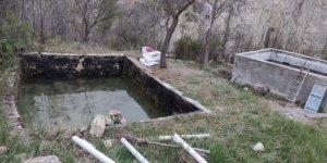 Baraj gölünde avladığı balıkları havuzunda besleyen kişiye ceza
