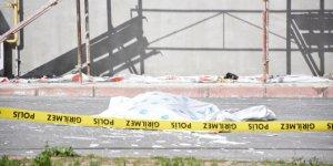 8. kattan düşen inşaat işçisi öldü