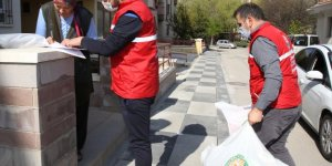 Gölbaşı Belediyesinden ihtiyaç sahiplerine yardım