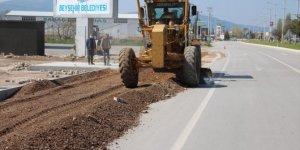 Beyşehir Belediyesi'nden yeni polis kontrol noktası çalışması