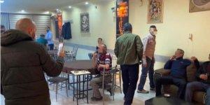 Kahvehanelerde yakalanan 12 kişiye işlem