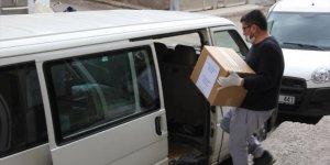 Zara Avcılar ve Atıcılar Kulübü Derneği'nden ramazan yardımı