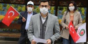 """Niğde ve Nevşehir'de sosyal mesafeli """"1 Mayıs"""" kutlaması"""