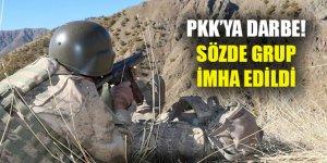 PKK'nın sözde Çemçe Grubu imha edildi