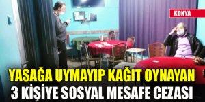 Konya'da koronavirüs tedbirlerini ihlal edenlere işlem yapıldı