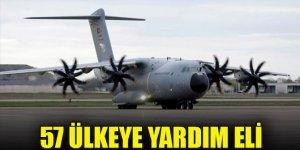 Türkiye'den 57 ülkeye yardım eli