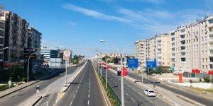 Diyarbakır'da cadde ve sokaklarda kısıtlamanın ikinci gününde de seslik hakim