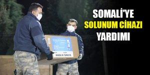 Türkiye'den Somali'ye solunum cihazı yardımı