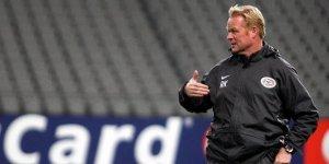 Hollanda Teknik Direktörü Ronald Koeman hastaneye kaldırıldı