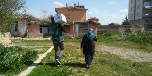 Konya İHH'dan ihtiyaç sahibi ailelere yardım
