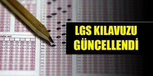 LGS kılavuzu güncellendi