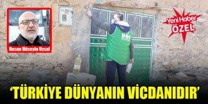 Konya İHH İnsanı Yardım Vakfı Başkanı Hasan Hüseyin Uysal: Türkiye dünyanın vicdanıdır